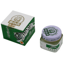 Free Shipping + Vietnam 20g white tiger balm for Headache Toothache Stomachache baume tiger blanc cold dizziness essential balm
