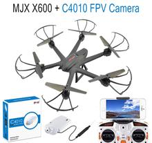 F15066/7-B MJX X600 2.4G 6-Axle Gyro RC Drone Hexacopter UAV 3D Roll Auto Return Helicopter + MJX C4010 720P 1.0MP HD FPV Camera