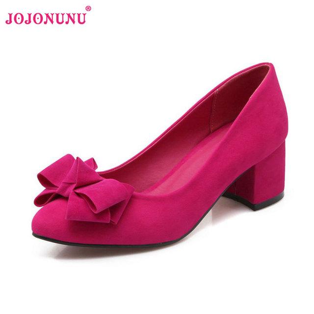 Женщины туфли на каблуках замши боути острым носом бренд женской моды на высоком ...