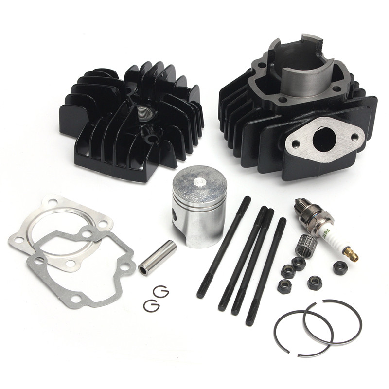 Engine Cylinder Piston Gasket Top End Kit For Yamaha PY50 PW50 PV50 QT50 Motorcycle Accessory Scooter Accessories(China (Mainland))