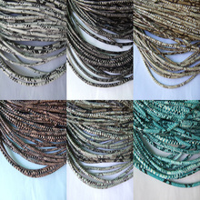 3mm Faux Snake Skin PU Leather Cord Wrapped Cotton DIY Craft Jewelry Supplies 1 Yard(China (Mainland))
