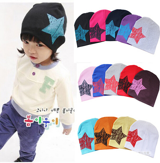 New Unisex Baby Boy Girl Toddler Infant Children Cotton Soft Cute Hat caps for children 1PCS(China (Mainland))