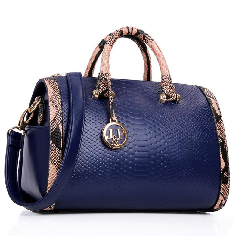 luxury Gift women Genuine Patent leather bag desigual lady Crocodile pattern tote candy color Shoulder handbag famous brand Bags(China (Mainland))