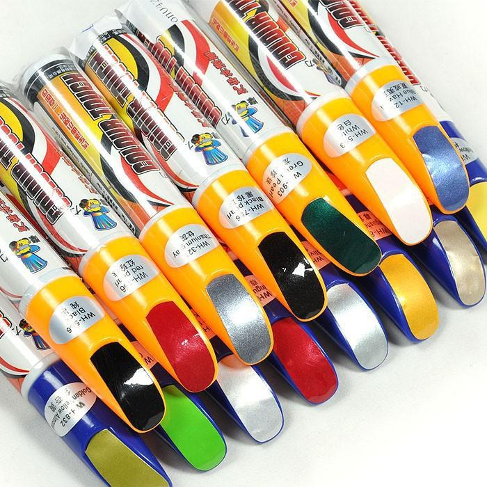 Selling all kinds of color paint pen magic car care products universal auto paint pen(China (Mainland))