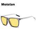 Yellow Lense Night Vision Polarized Driving Goggles Professional Reduce Glare Men s Fashion Car Driving Anti