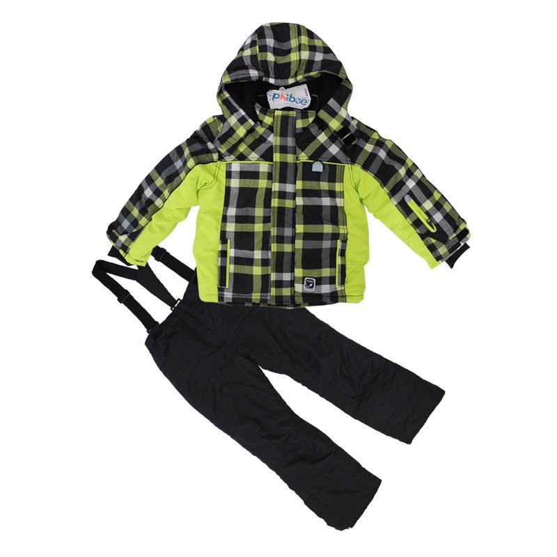 Good quality winter children windproof ski jacket+ski trousers children winter snow suit outdoor wear kids suits waterproof set(China (Mainland))