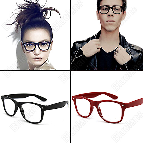 Fashion Clear Glasses Fashion Lovely Unisex Clear