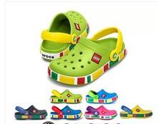 Livraison gratuite! 2014 New Kids jardin chaussures, Garçons et filles Cro fabriqués en chine trou sandales, Enfants pantoufles d'été, Bébés sandales(China (Mainland))