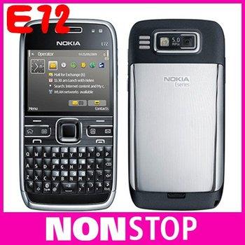 Original Nokia E72 3G WIFI GPS 3G 5MP Unlocked Mobile Phone In Stock One Year Warranty