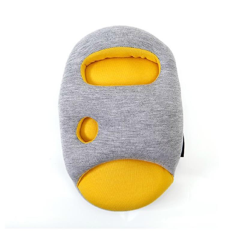 almohada de viaje Yellow Ostrich U shaped Neck sleeping Pillow car Travel for Aircraft / Office Staff(China (Mainland))