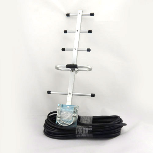 High Quality! 5 units 9dBi 824-960MHz Yagi Antenna with 10m Cable for Phone GSM CDMA WCDMA Repeater Free Shipping
