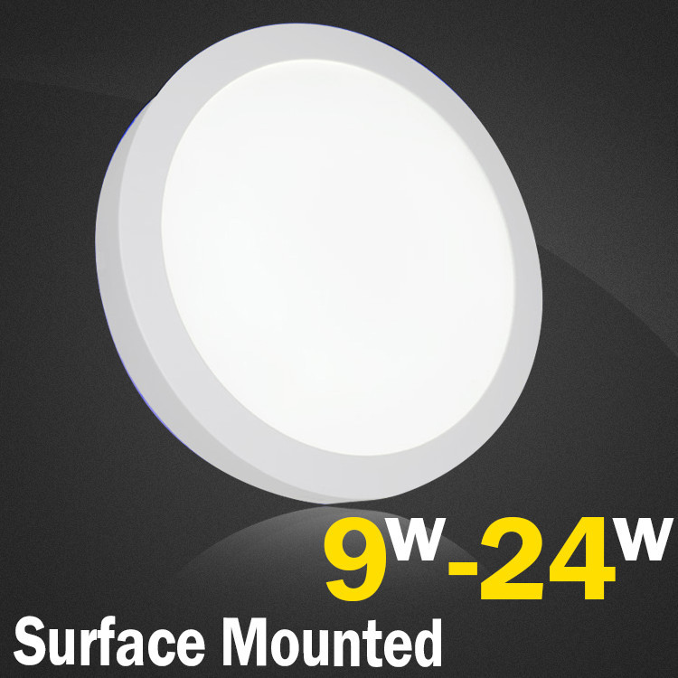 Round Surface Mounted LED Downlight 6w 12w 18w 24w Indoor Lighting LED Ceiling Panel Downlights LED Kitchen Light For Home Lamp<br><br>Aliexpress
