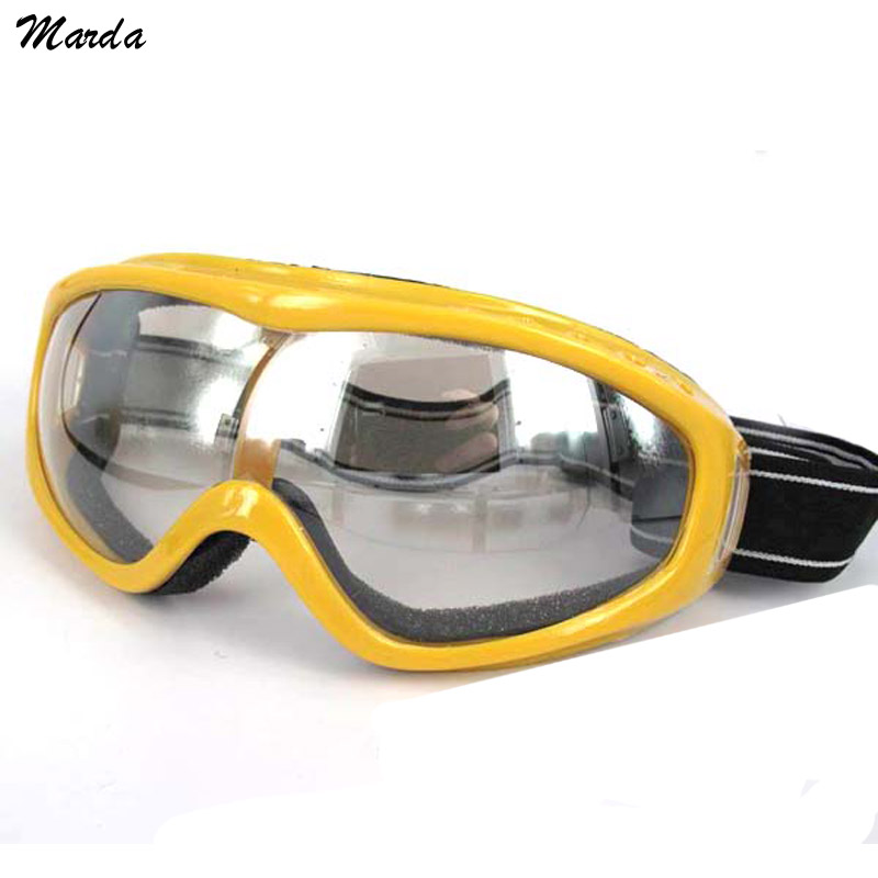 Outdoor UV400 Windproof Glasses Ski Glasses Dustproof Snow Glasses Men Motocross Riot Control Skiing Goggles