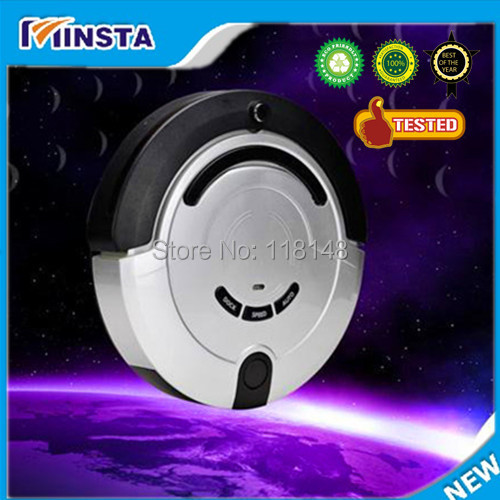 Free shipping-2014 advanced Smart Full-auto Robot Vacuum Cleaner with talking function and recharge function(China (Mainland))