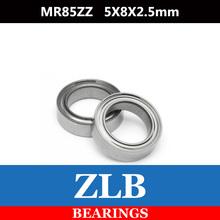 Free Shipping 10 PCS MR85ZZ ABEC-5 5X8X2.5 mm Deep groove Ball Bearings MR85 / L-850 ZZ(China (Mainland))