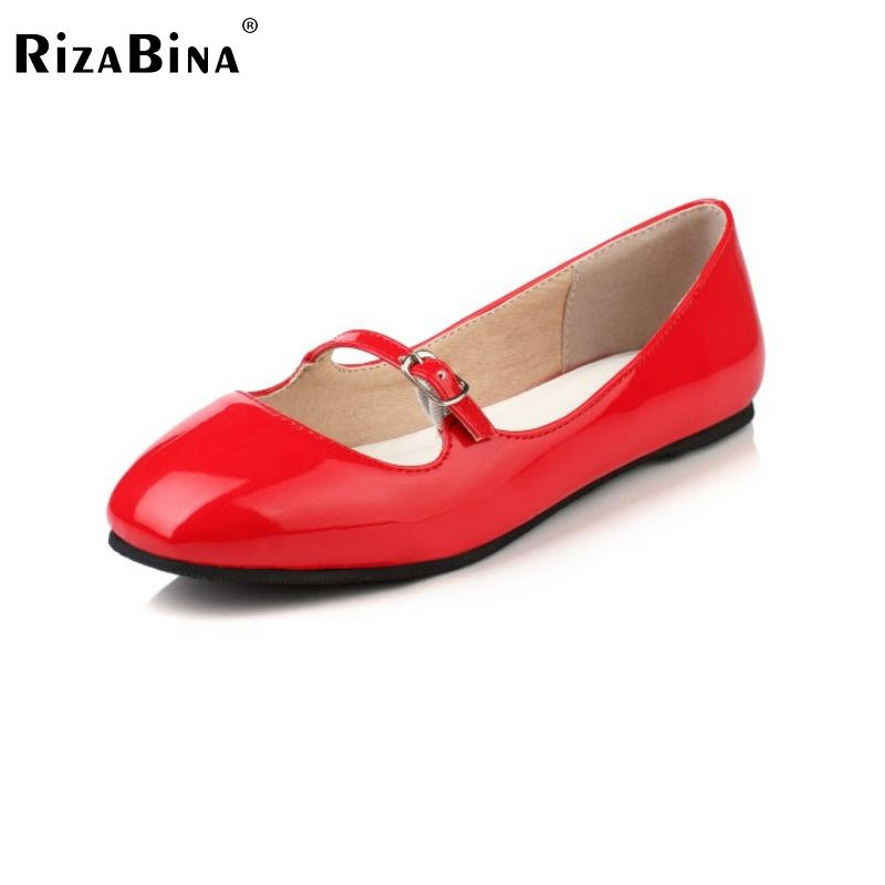 women patent leather flat shoes leisure ballet flats shoes slip on for woman footwear zapatos mujer size 34-39 PD00029(China (Mainland))