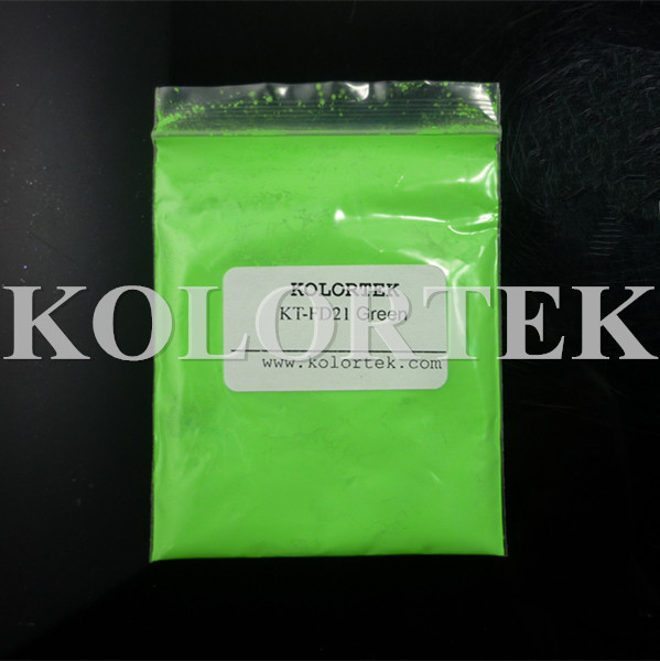 Fluorescent Powders High Quality Neon Colors Green Pigments Neon Pigments Manufacturer(China (Mainland))