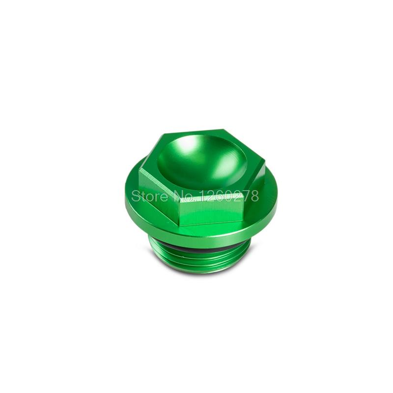Green Oil Filler Cap Plug For Kawasaki KX250F KX450F, KX250 05-08, KLX450R 08-14 Motorbike Frames Decor<br><br>Aliexpress