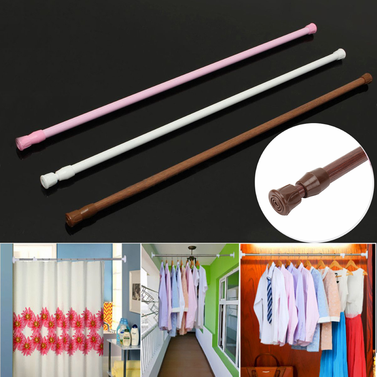 Curtain Shower Rod Promotion Shop For Promotional Curtain Shower Rod On