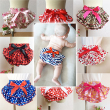 Baby Girl Ruffle Bloomer Princess Pettiskirt Panties Diaper Cover Nappy Shorts Briefs Summer Bottom Pants Nappy Covers PP Skirt(China (Mainland))