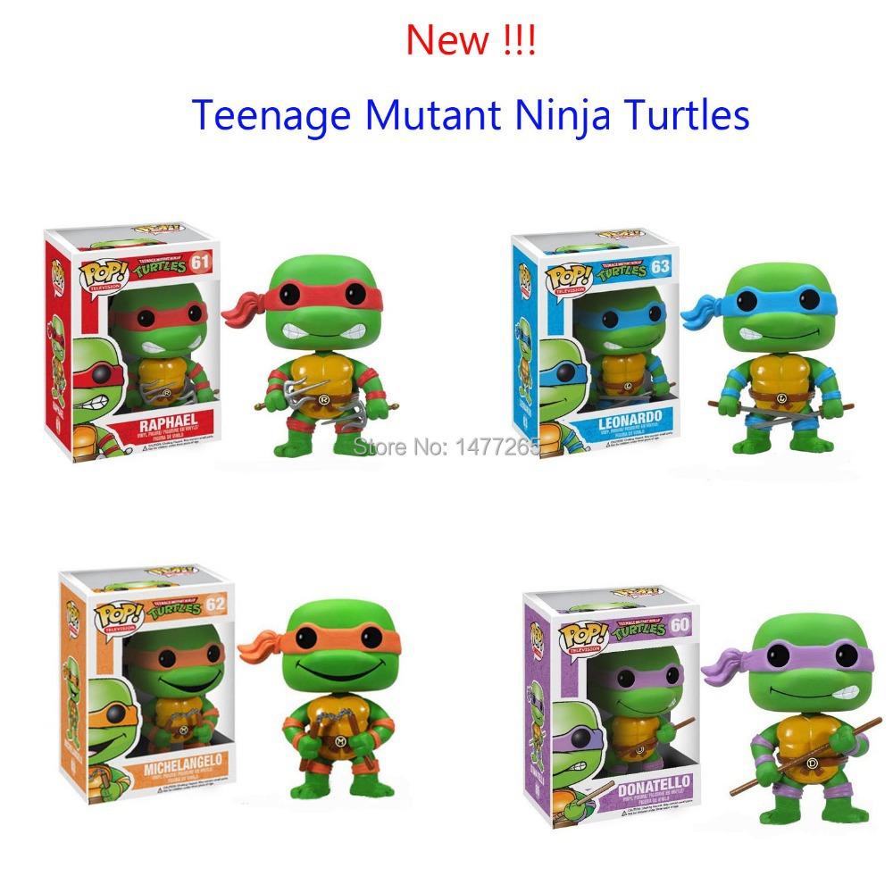 Фигурка героя мультфильма Ninja Tmnt Bobblehead 9046 tmnt 12 90545