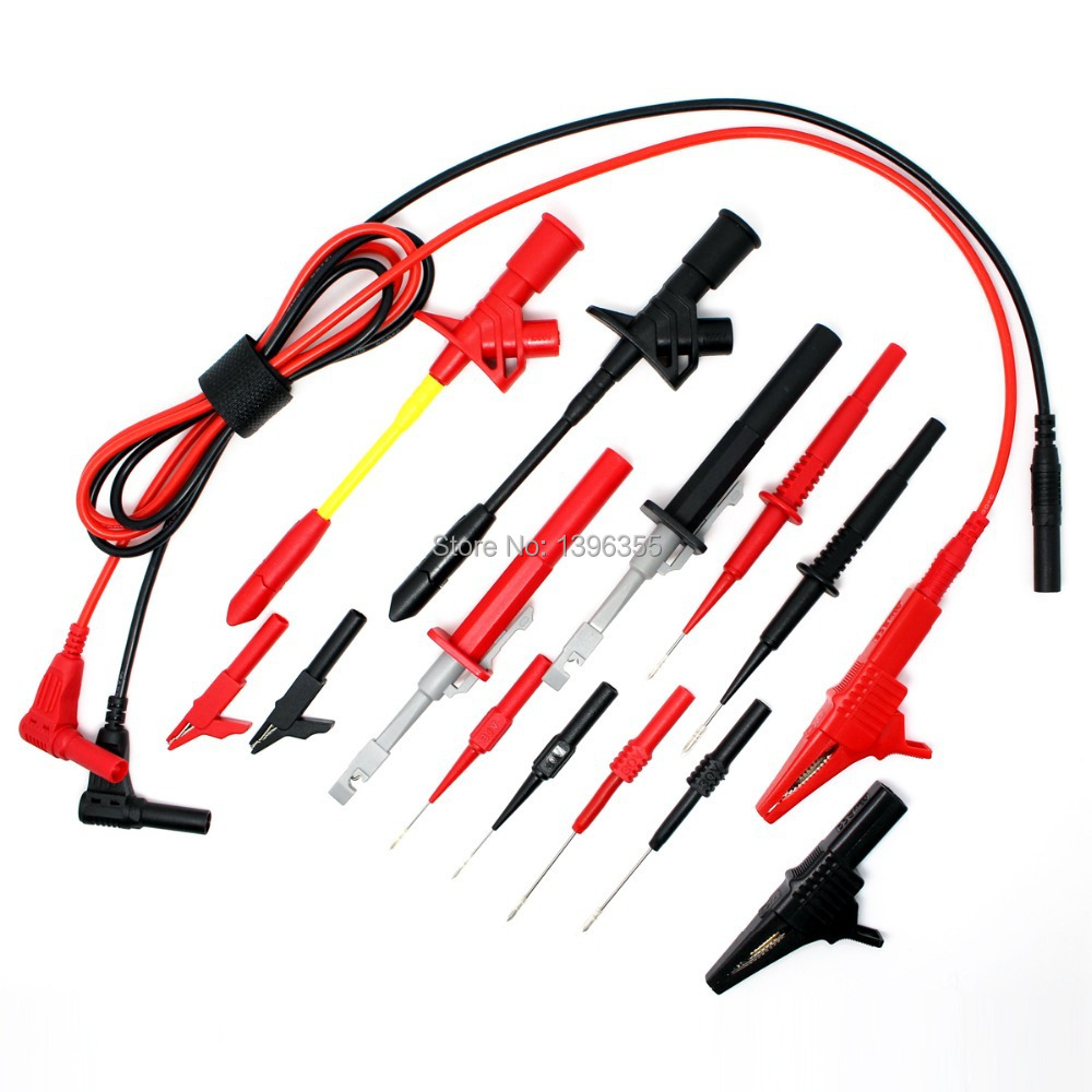 DMM008B Electronic Specialties Test Lead kit Automotive Test Probe Kit Universal Multimeter probe leads kit(China (Mainland))