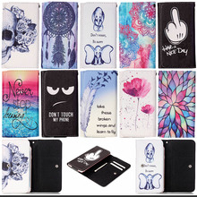 Printed Flip PU Leather Case cover VKworld F1 T2 Universal Mobile Phone Bags samsung galaxy A3 A310 card slots S5C53D - buybest store