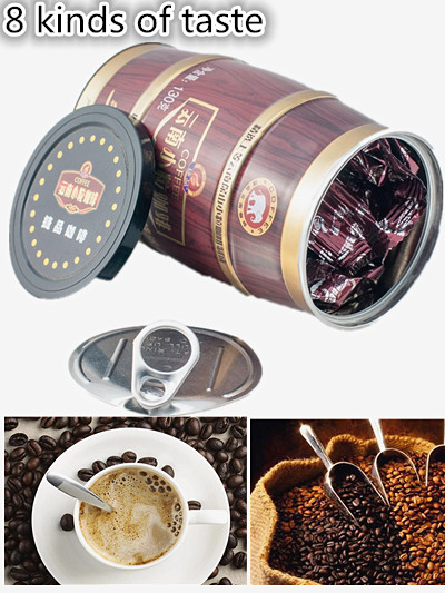 Free shipping coffee for tassimo yunnan Original green food slimming coffee lose weight tea