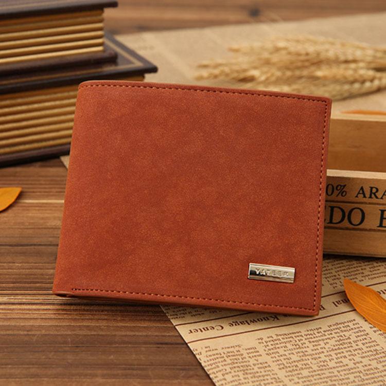 Mens leather wallet brand 2015 designer wallet bison denim 2016 brand designer top cowhide leather men s long wallet clutch wrist bag black wallets
