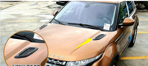 For Range Rover Evoque Roof Hood Air Flow Decorative Engine Vent Cover<br><br>Aliexpress