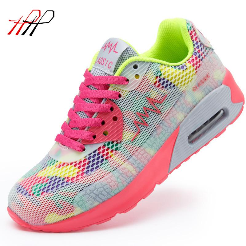 New 2016 Fashion Flats Women Trainers Breathable Sport Woman Shoes Casual Outdoor Walking Women Flats Zapatillas Mujer 663(China (Mainland))