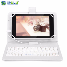 2016 iRULU eXpro X4 IPS 7'' GMS Android 5.1 Tablet PC Quad Core Dual Cam 1GB/16GB Bluetooth 4.0 HD 1280*800 w/EN Keyboard Case(China (Mainland))