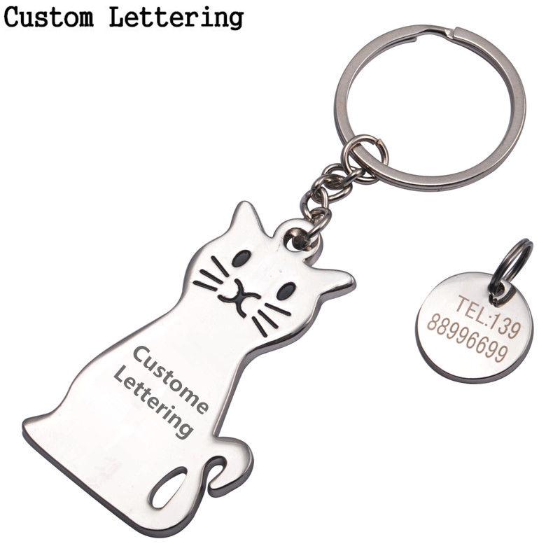 custom silver keychain al por mayor de alta calidad de
