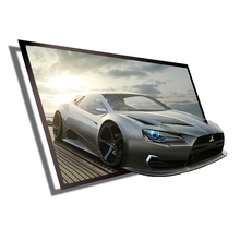 ! 60inch 16:9 Portable Matt White Projection Screen Simple HD Wall Mounted Projector Black Edging - Shanghai D&Q Technology Co.,Ltd store