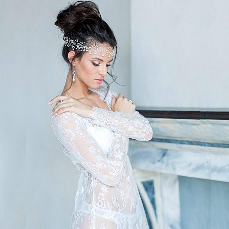 Wholesale- Maxi Plus Size Women Floor-Length Black White Summer Lace ...