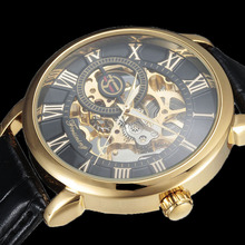 engraved watches for men online shopping the world largest forsining 3d logo design hollow engraving black gold case leather skeleton mechanical watches men luxury brand heren horloge