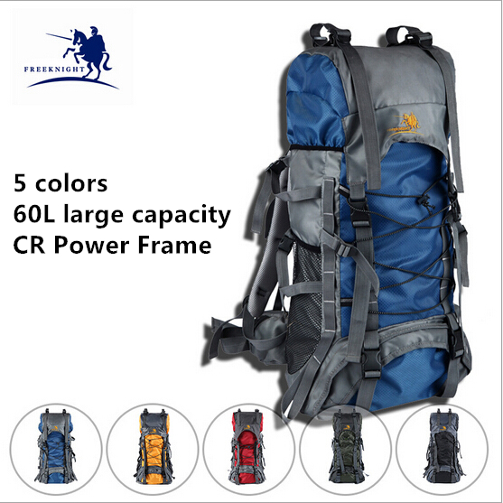Brand 60 L Unisex Water Resistant Professional Camping Hiking Backpack Sport Mountaineering Traveling Pack 5 Colors Available<br><br>Aliexpress