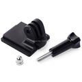 Aluminum Helmet Fixed NVG Mount Base Adapter Screws for Gopro Hero 2 3 3 Camera OS103