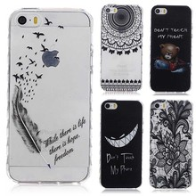 Translucent Delicate Design Back Case iPhone 5C Cover TPU Silicone Apple iPhone5C Phone Coque Hoesjes - Refire Store store