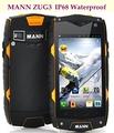 Original MANN ZUG 3 A18 ZUG3 MSM8225 Quad Core IP68 Waterproof Mobile Phone 1GB RAM 4GB
