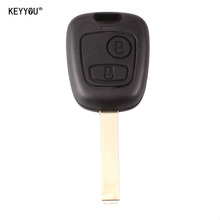 Buy KEYYOU 2 Button Uncut Blade Remote Car Key Case Shell Fob Citroen C1 C2 C3 Pluriel C4 C5 C8 Xsara Picasso Cover Replcament for $1.29 in AliExpress store