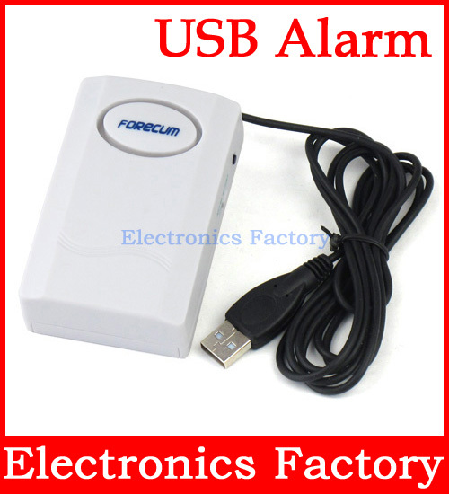 USB Power Lock Disconnect 110 dB Siren anti theft laptop Notebook PC Computer Security Digital Systerm Exhibit Alarm Device(China (Mainland))