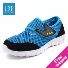 New 2015 Summer Children Breathable Mesh Shoes Single Net Cloth Leisure Sports Shoes Kids Boots Children