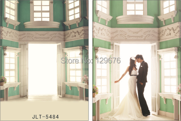 Wedding Dress theme Vinyl Muslin Photography Backdrops  Photo Studio Background  JLT-5484<br><br>Aliexpress