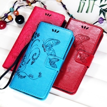 For Samsung Galaxy J1 J3 J5 J7 2016 J2 J1 Ace Flip Stand Hand String PU Leather Phone Case Card Slot Butterfly Wallet Cover Bag(China (Mainland))