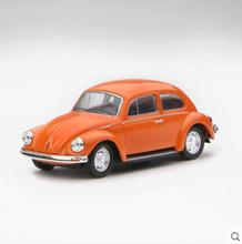 Kyosho 1/64 умирают — бросает модель автомобиля — VW Beetle 1303 1974 оранжевый / синий / черный