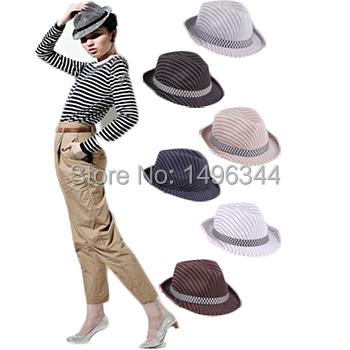 Мужская ковбойская шляпа YUXI 2015 Fedora Chapeu Feminino HAT0087