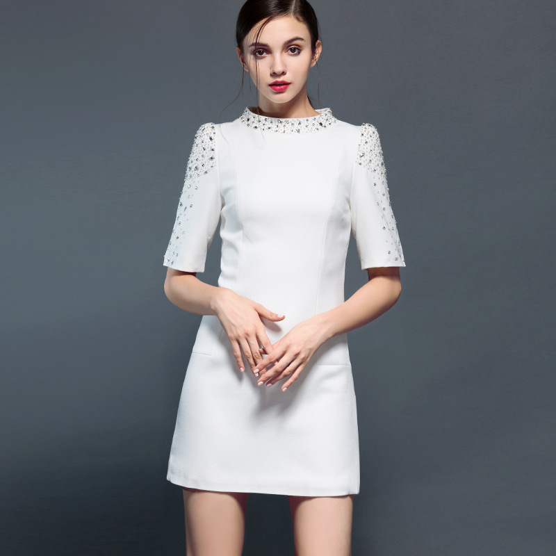 The new station and high-end boutique brand J81802 dress Taobao female agent(China (Mainland))