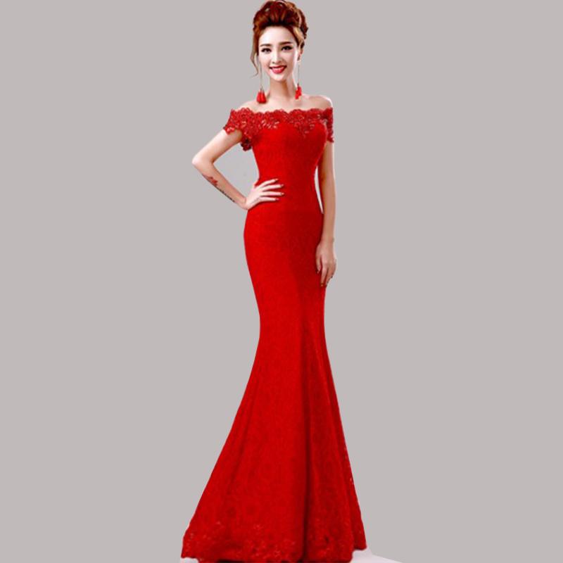 Robe De Soir Ef Bf Bde Rouge Fashion Pas Cher