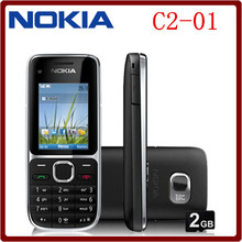 C2-01 Original Unlocked Nokia C2-01 1020mAh 3.15MP 3G Support Russian Keyboard Cellphone Free Shipping(China (Mainland))